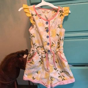 Lemonade jumpsuit/romper from Matilda Jane